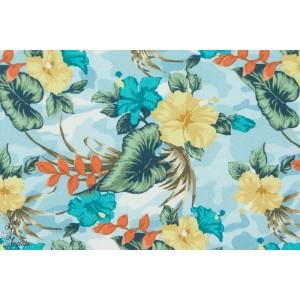Sweat hilco Eponge Nalu fleur ile bleu