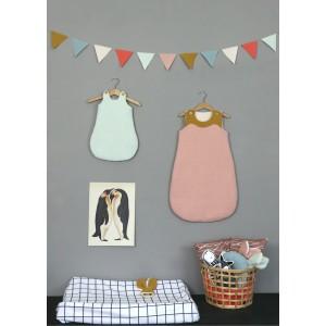 Patron couture bébé LUA Gigoteuse   en Anglais