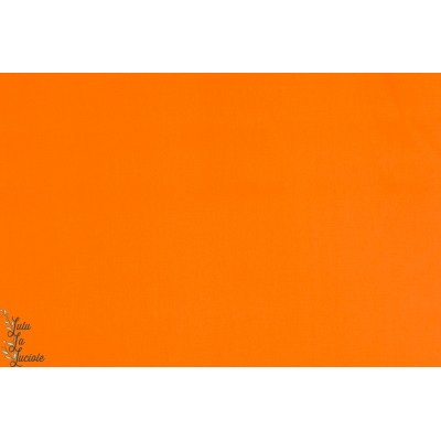 Popeline Unie AGF Bumt Orange