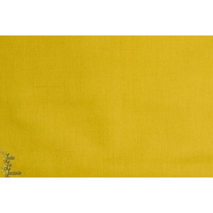 tissu coton uni Batiste France Duval Olive