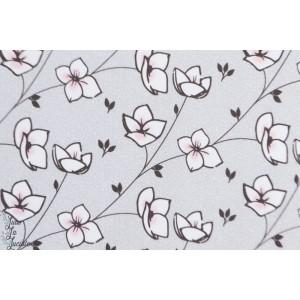 Jersey Bio Buttercup Lillestoff voilà fleur cerisier japon