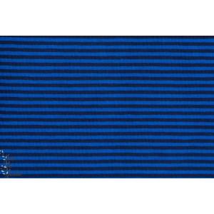 Jersey rayé Cobalt - Bleu