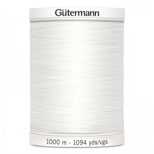 Fil Guterman Blanc 100m tout coudre