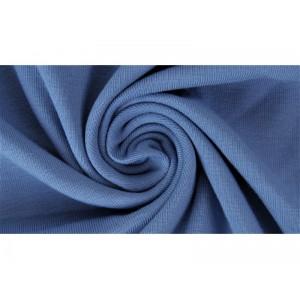 Jersey Uni Bio Jeansblau Lillestoff