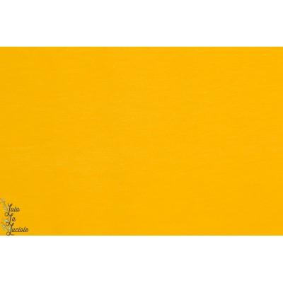 jersey Bio Uni Senf Stoffonkel jaune moutarde