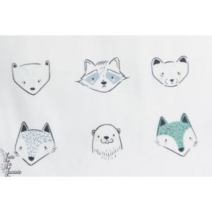 Jersey AGF Furries cool animaux renard,loutre