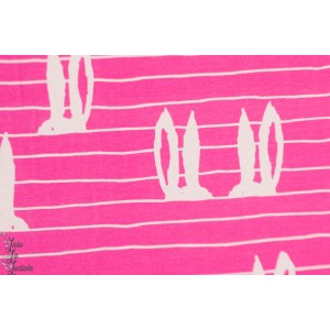¨Jersey Pupujemma Plox Pink oreilles de lapîn Verson Pioti Rose