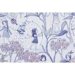 Popeline Blumenelfen Lillestoff elfe fée nature fleur susalabim