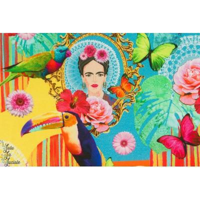 Canvas half PANAMA Premium Frida tropique couleur mexique