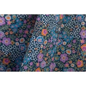 Batiste Lawn dashwood Bahar Lilac liberty fleur bleu