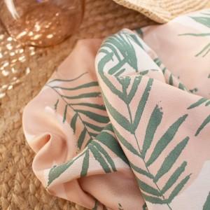 Crêpe de Viscose Atelier brunette Canopy Cactus