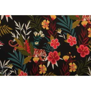 Viscose Colourful Jungle Atelier Jupe