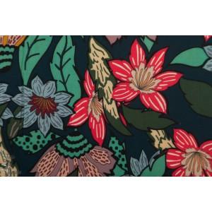 Viscose large Flower Atelier Jupe rose mode femme fleur