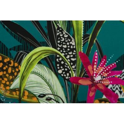Viscose Tropical Turquoise Atelier Jupe mode femme tropique été