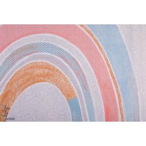 Panneau Jersey Bio Risenbogen Lillestoff  susalabim arc en ciel rainbow