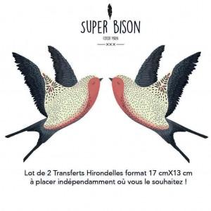 Transfert SUPER BISON Hirondelles