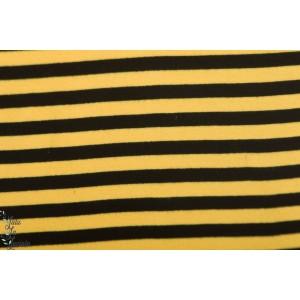 Bord Cote Bio Rayé Paapii jaune noir de Paapii