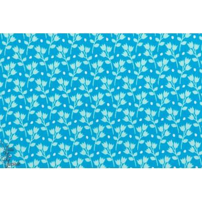 Popekine coton bio Soft Cactus Kitchen Garden - M - Bleu - R
