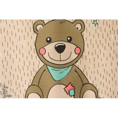 Jersey Bio Teddy ourson couture bébé lillestoff
