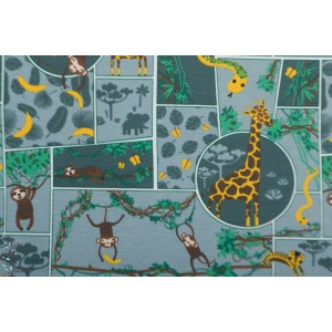 Jersey Jungle BD animaux zoo singe girafe enfant