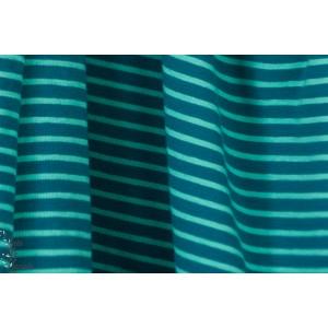 jersey Rayé Hilco vert Bleu