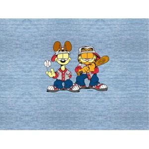 Panneau jersey bio Garfield Jeans Look