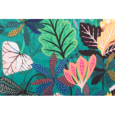 rayon Viscose gardenia 1676 exotique plante verte