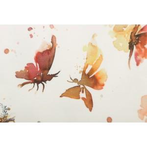 jersey Butterflies Family Fabrics papillon nature graphique