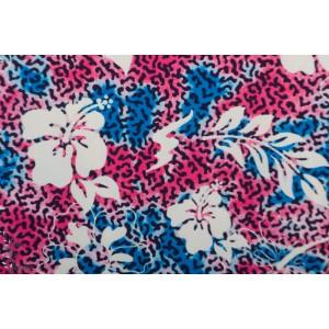 Swim ad sport fleur rose bleu maillot de bain fleur ile