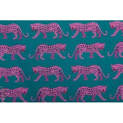 Popeline Dashwood  - Leopard - Night Jungle JUNG1648