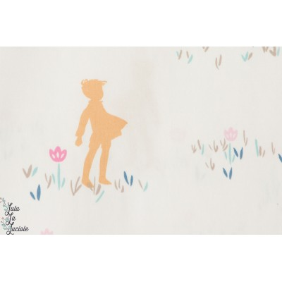 tissu Popeline coton  Playground Enfance art gallery fabrics enfance aire de jeu,