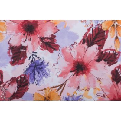 Jersey bio Sommerluft Lillestoff Enemenemeins fleur violet
