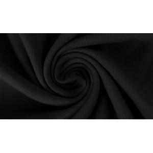Viscose Jersey lillestoff noire
