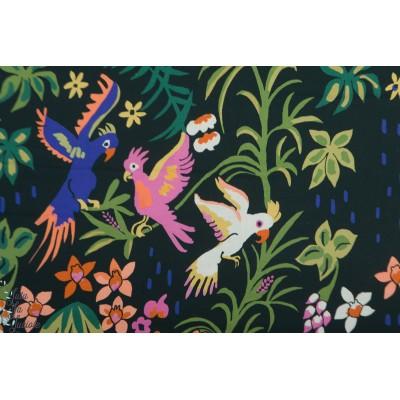 Popeline Bio Cloud9 Cockatoos  - Cacatoes - Garden of Eden