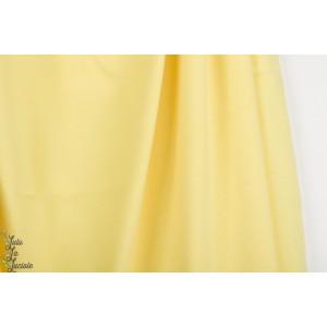 Jersey jacquard Bio Alb Summer Melange giallino / meringa