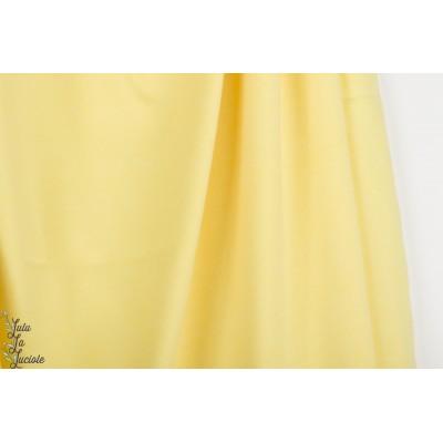 Jersey jacquard Bio Alb Summer Melange giallino / meringa jaune pastel