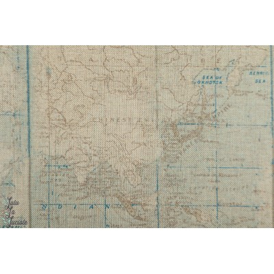 Linenlook Half Panama World Map monde carte accéssoire