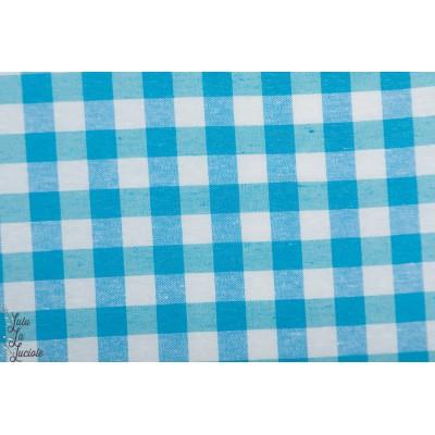 Dobby check bleu prémiumvivhy carreau bleu