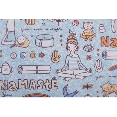 Canvas Bio Yoga Lillestoff toile epaisse susalabim Namasté