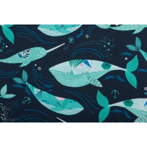Popeline Dashwood Into The Blue 162 ocean mer bethan janine baleine
