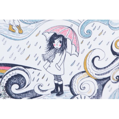 Jersey Bio April April Lillestoff Susalabim fille ado pluie arc en ciel