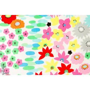 Popeline Everyday Eden jardin été alexander henry peinture art coton couleur