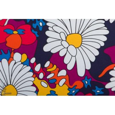 Jersey Bio Flower power by Ernst fleur couleur retro vintange