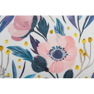 Jersey bio Viola Rosa By Ernest fleur nature rose pastel doux