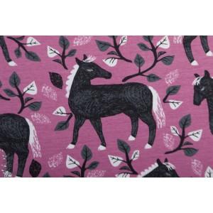 Jersey Bio Poem Paapii lilas gris cheval violet