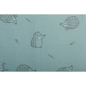 Sweat Hérissons mini Forest animaux bébé layette bleu