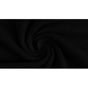 Jersey Lin uni  Viscose Noir Lillestoff