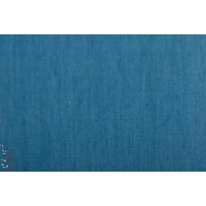 Jeansoptik denin Jeansblau hell Lillestoff