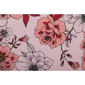 Summersweat bio Aphrodite Lillestoff enemenemeins fleur rose