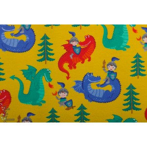 Jersey Ritter Dragon jaune enfant